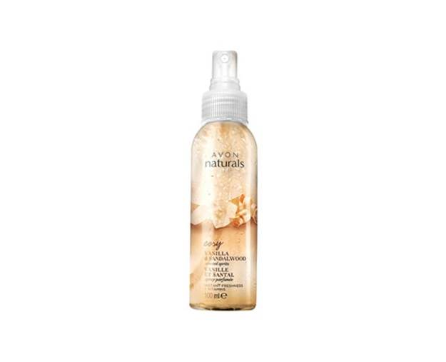 Avon Tělový sprej s Vanilkou a Santalovým Dřevem Naturals 100 ml (kAV01990X) od www.kosmetika.cz