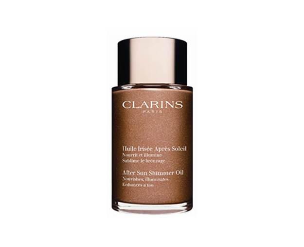 Clarins Olej po opalování se třpytkami (After Sun Shimmer Oil) 100 ml (kCL1143410) od www.kosmetika.cz