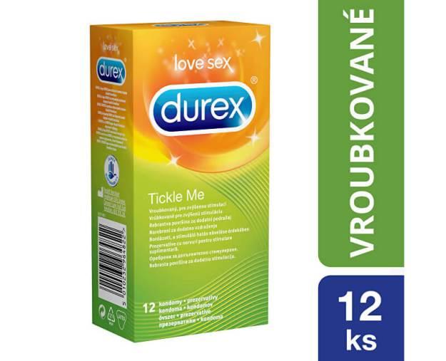 Kondomy Tickle Me (kDKR3636) od www.prozdravi.cz