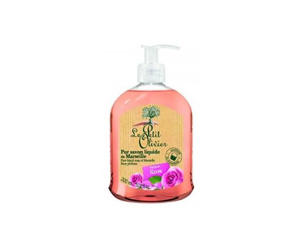 Přírodní tekuté mýdlo s olivovým olejem Růže (Pure Liquid Soap) 300 ml (kLEP0086) od www.prozdravi.cz