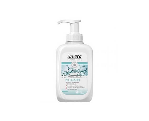 Hydratační tekuté mýdlo s BIO měsíčkem a BIO vilínem Basis Sensitive (Liquid Soap) 300 ml (kLV026) od www.prozdravi.cz