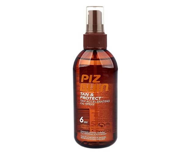Ochranný olej ve spreji urychlující proces opalování Tan & Protect SPF 6 (Tan Accelerating Oil Spray) 150 ml (kPB8667401) od www.prozdravi.cz