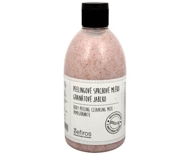 Peelingové sprchové mléko Granátové jablko (Body Peeling Cleansing Milk) 500 ml (kSE117) od www.prozdravi.cz