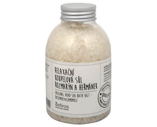 Relaxační koupelová sůl Rozmarýn a heřmánek (Original Dead Sea Bath Salt) 500 g (kSE129) od www.prozdravi.cz