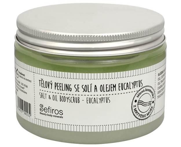 Tělový peeling se solí a olejem Eucalyptus (Salt & Oil Bodyscrub) 300 ml - SLEVA - poškozený obal (kSLEVA1593) od www.prozdravi.cz