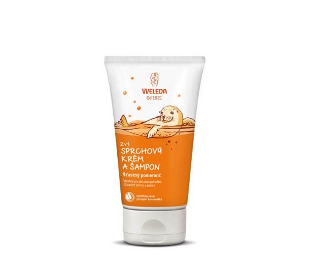 Sprchový krém a šampon 2 v 1 Šťastný pomeranč 150 ml (kWD382) od www.prozdravi.cz