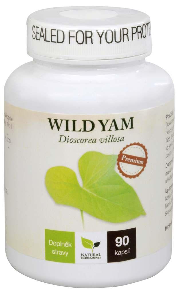 Natural Medicaments Wild Yam Premium 90 kapslí (z4536) od www.kosmetika.cz