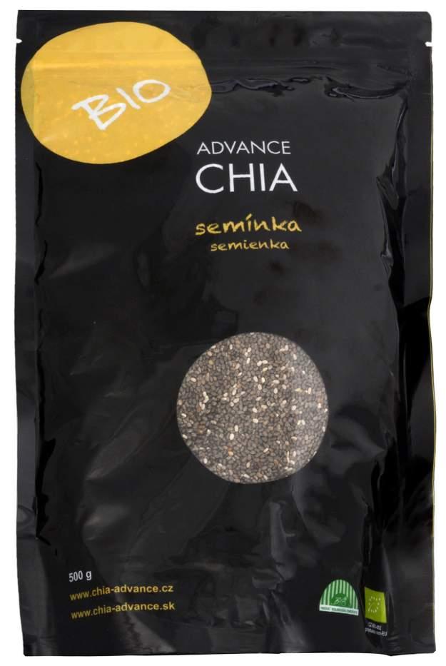 Advance nutraceutics BIO Chia semínka 500 g (z44057) od www.kosmetika.cz