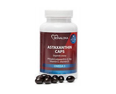Bonaloka Astaxanthin Caps Omega 3 - 90 kapslí (z54353) od www.kosmetika.cz