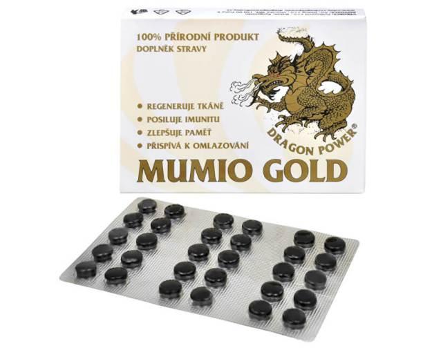 Dragon Power - Mumio Gold 30 tbl. (z1255) od www.prozdravi.cz