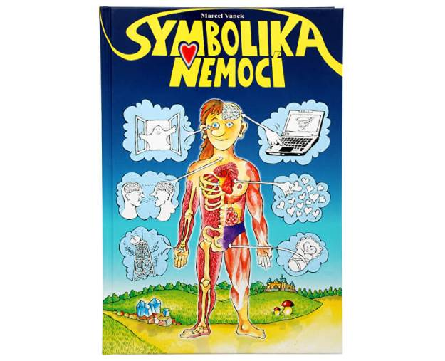 Symbolika nemocí (Marcel Vanek) (z2871) od www.prozdravi.cz