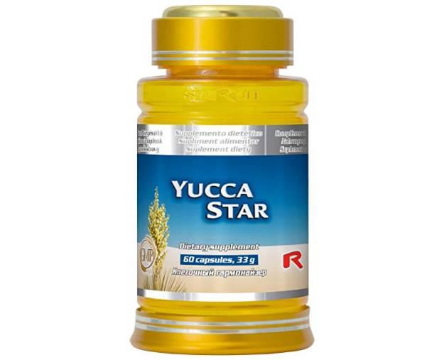 YUCCA STAR 60 kapslí (z2091) od www.prozdravi.cz