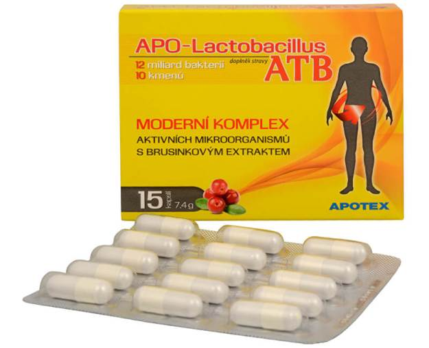 APO-Lactobacillus ATB 15 kapslí (z35266) od www.prozdravi.cz