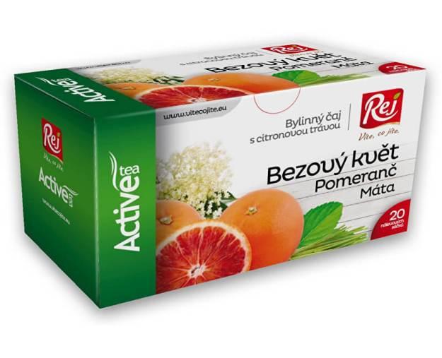 Čaj ACTIVE - bezový květ s pomerančem 30g (z41534) od www.prozdravi.cz