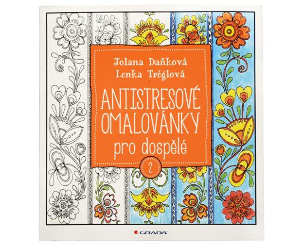 Antistresové omalovánky pro dospělé 2 (Jolana Daňková, Lenka Tréglová) (z43121) od www.prozdravi.cz