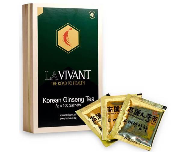 LAVIVANT Instantní čaj z korejského ženšenu 100 ks (z43570) od www.prozdravi.cz