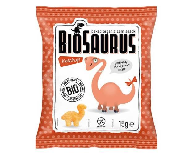 Bio Biosaurus křupky s kečupem 15g (z49936) od www.prozdravi.cz
