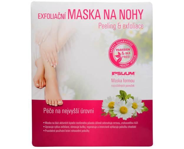 Ipsuum Prestige Exfoliační maska na nohy - ponožky (z49515) od www.kosmetika.cz
