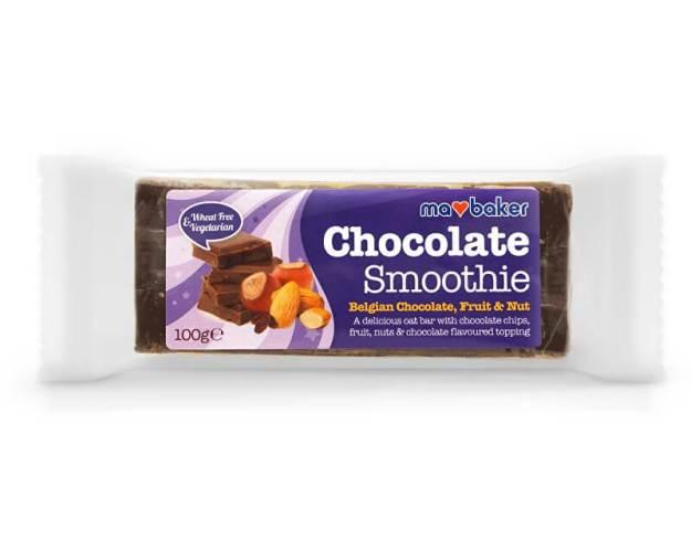 Tyčinka Obří Smoothie Bel.čokoláda+Ovoce+Ořechy 100g (z49632) od www.prozdravi.cz