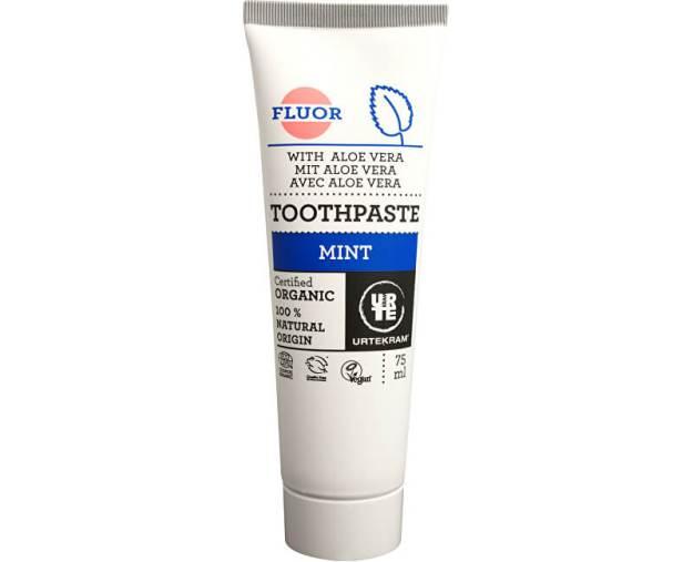 Urtekram Zubní pasta máta s fluorem 75 ml BIO (z50625) od www.kosmetika.cz