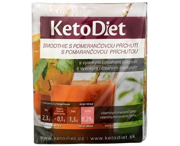 Proteinové smoothie s pomerančovou příchutí 7 x 27 g (z52647) od www.prozdravi.cz