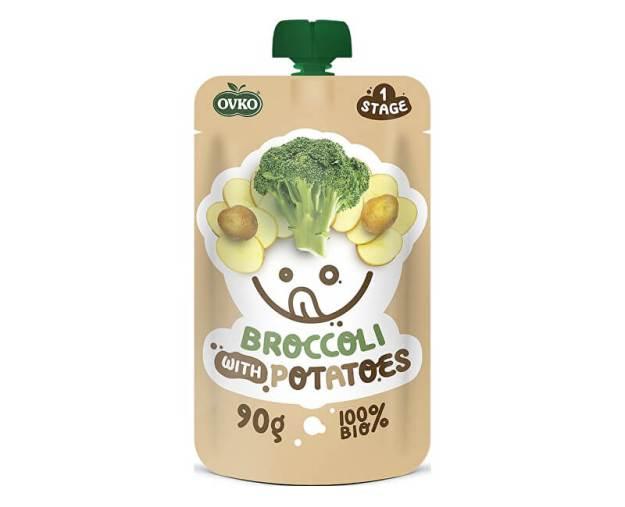 Bio kapsička brokolice s bramborami OVKO 90g (z53538) od www.prozdravi.cz