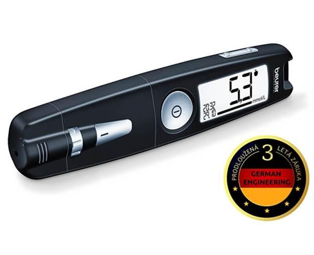 Glukometr GL 50 černý (z53896) od www.prozdravi.cz