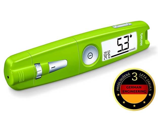 Glukometr GL 50 zelený (z53890) od www.prozdravi.cz