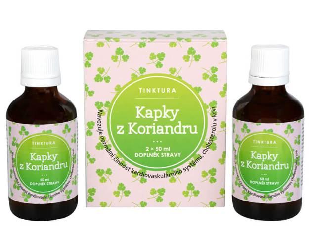 Kapky z Koriandru tinktura 2 x 50 ml (z53332) od www.prozdravi.cz