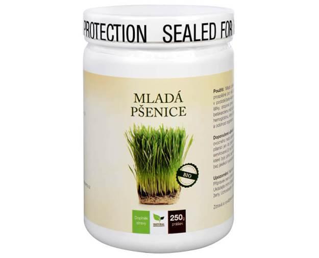 Natural Medicaments Mladá pšenice BIO 250 g (z53313) od www.kosmetika.cz
