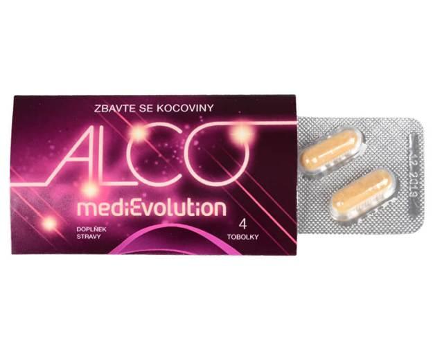 MediEvolution Alco Evolution 4 tobolky (z54753) od www.kosmetika.cz
