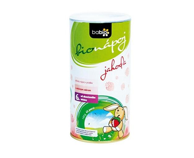 BABIO dětský bionápoj jahoda 45 porcí (z54904) od www.prozdravi.cz
