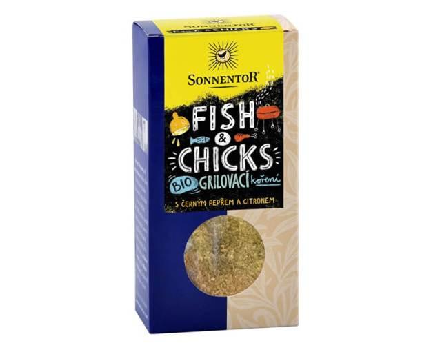 Bio Fish & Chicks - grilovací koření na ryby a kuře 55g (z54776) od www.prozdravi.cz