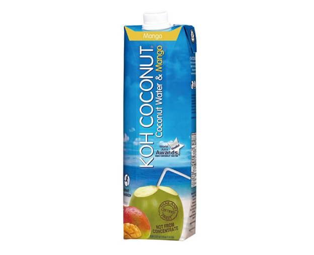 Koh coconut 100% kokosová voda s příchutí manga 1l (z54800) od www.prozdravi.cz