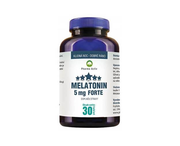 Melatonin 5mg FORTE 30 tablet (z54744) od www.prozdravi.cz