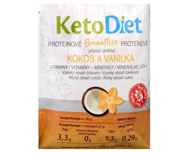 Proteinové smoothie příchuť kokos a vanilka 7 x 27 g (z54857) od www.prozdravi.cz
