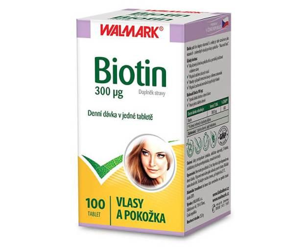 Biotin 300 µg 100 tbl. (z55778) od www.prozdravi.cz