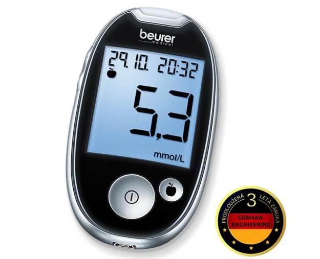Glukometr GL 44 černý (z55105) od www.prozdravi.cz