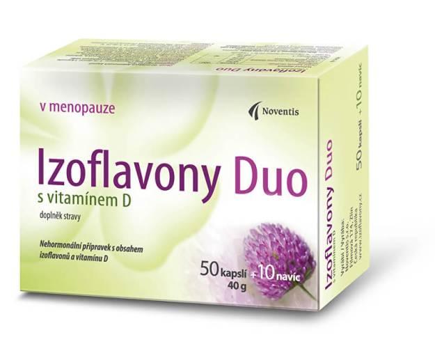 Izoflavony Duo s vitamínem D 50 kapslí + 10 navíc (z55981) od www.prozdravi.cz