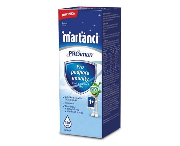 Marťánci ProImun sirup 150 ml (z55713) od www.prozdravi.cz