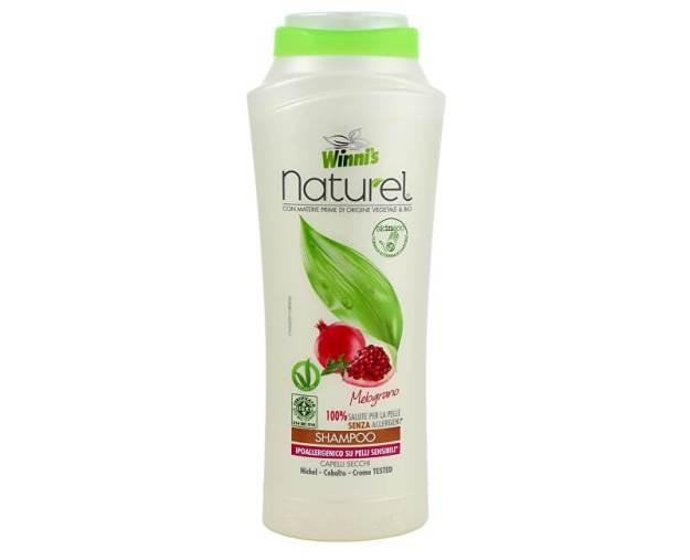 NATUREL Shampoo Melograno šampon s granátovým jablkem na suché vlasy 250 ml (z55331) od www.prozdravi.cz