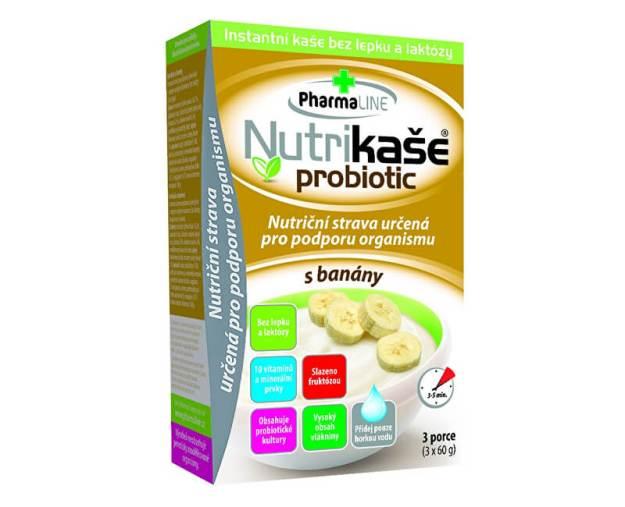 Nutrikaše probiotic s banány 180g (3x60g) (z55940) od www.prozdravi.cz