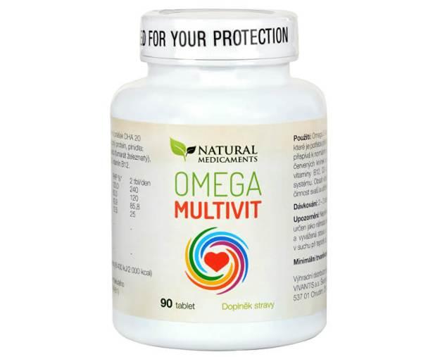 Omega Multivit 90 tablet (z55334) od www.prozdravi.cz