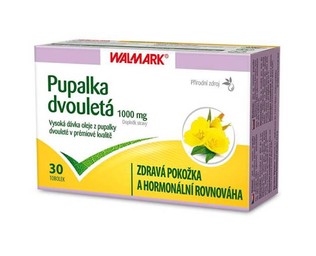 Pupalka dvouletá 1000 mg 30 tob. (z55798) od www.prozdravi.cz