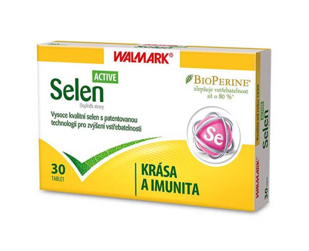 Selen Active 30 tbl. (z55830) od www.prozdravi.cz