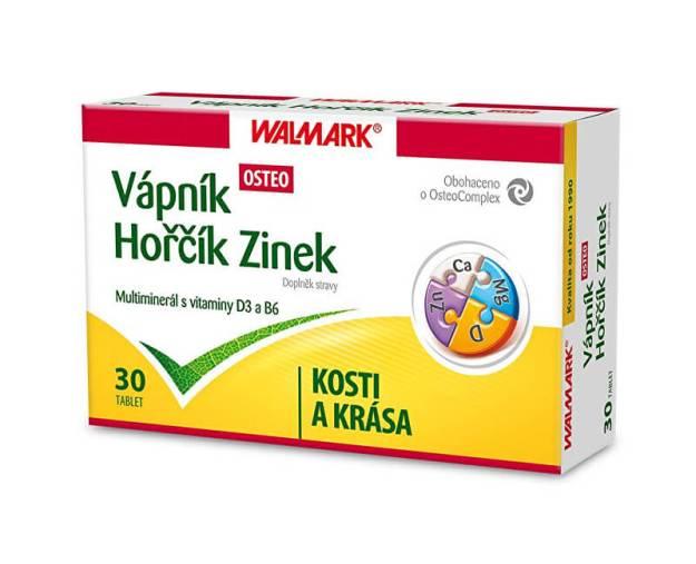 Walmark Vápník Hořčík Zinek OSTEO 30 tbl. (z55833) od www.kosmetika.cz