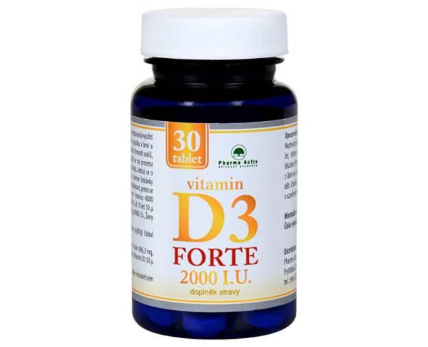 Vitamin D3 Forte 2000 I.U. 30 tablet (z55860) od www.prozdravi.cz