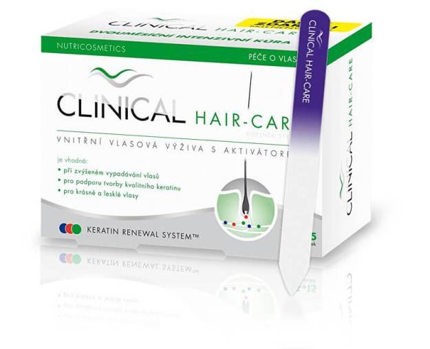 Clinical Clinical Hair-care 45 tob. + 15 tob. ZDARMA + pilník ZDARMA (z56704) od www.kosmetika.cz