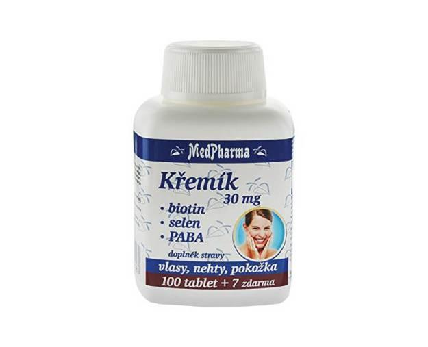 Křemík 30 mg + biotin + selen + PABA 100 tob. + 7 tob. ZDARMA (z56020) od www.prozdravi.cz