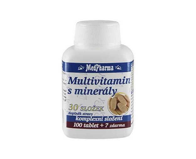 Multivitamin s minerály 30 složek 100 tbl. + 7 tbl. ZDARMA (z56030) od www.prozdravi.cz